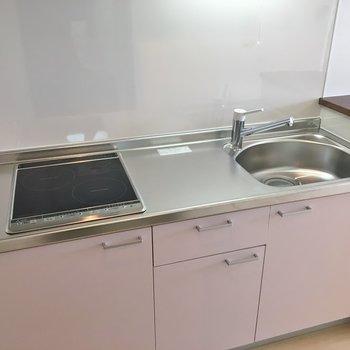 調理スペースも広くていいね!