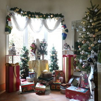 クリスマスの時期はこんなに可愛く…◎