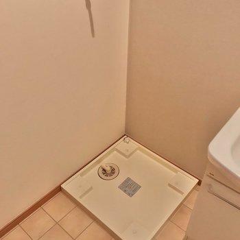洗濯機置場はその隣。