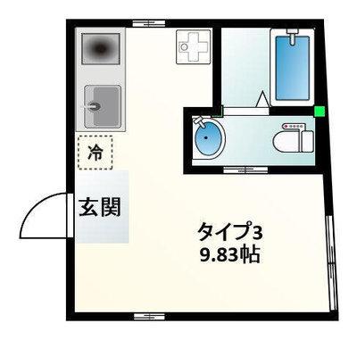 Calm/カーム 雑司ヶ谷駅3分/文化遺産目の前 の間取り