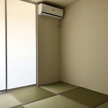 【和室】エアコンもちゃんとあります。