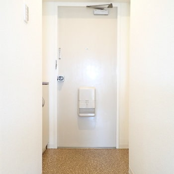 玄関はゆったりめです。 ※写真・文章は9階の同間取り別室のものです。