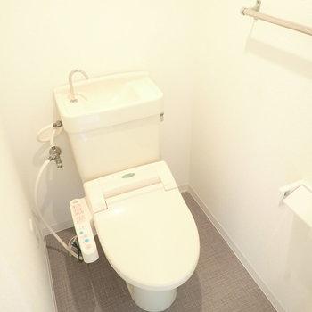 ウォシュレットつき!※トイレのみ同間取り・別部屋の写真です。