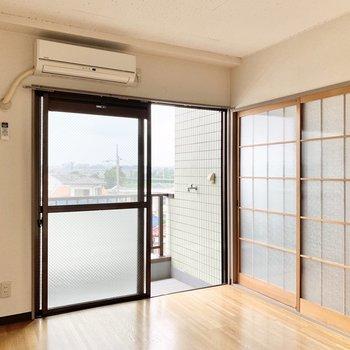 【洋室】エアコンが完備です。