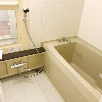 バスルームは十分な広さ!※写真は前回募集時のもの