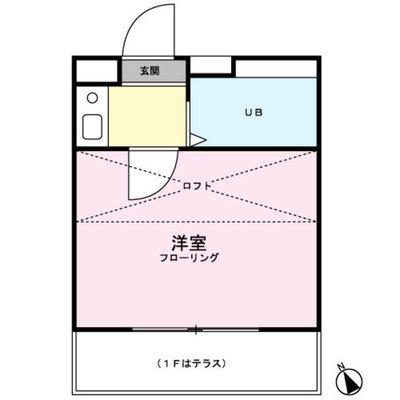 田村アパートメント の間取り
