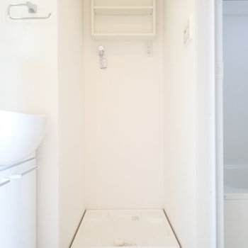 洗濯機の上にはかっこよく洗剤を置きたい。