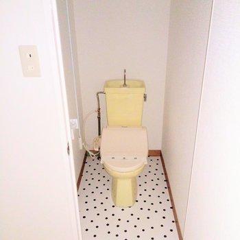 トイレはウォシュレット付きです♪