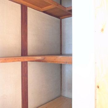 【2F洋室(階段隣)】ウォークインクローゼットに近いです!