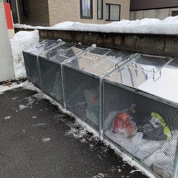 専用ゴミ置き場完備