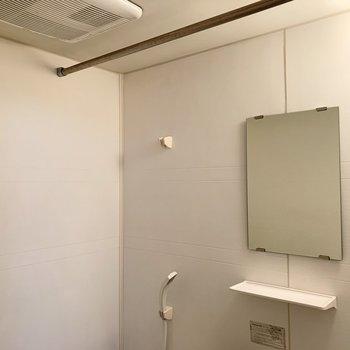実は浴室乾燥機も付いているんです◎