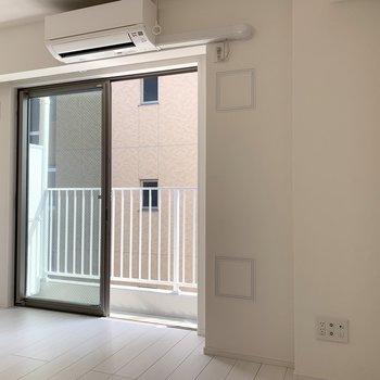 風通し、空気感◎※写真は4階の同間取り別部屋のものです