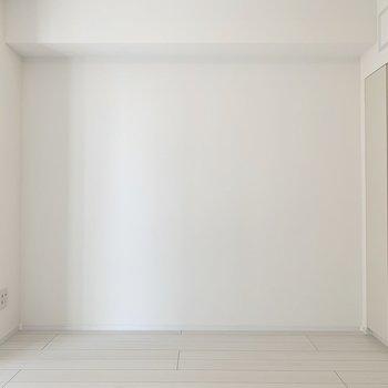 レイアウトが楽しめそうな間取りです。※写真は4階の同間取り別部屋のものです