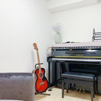 【防音室4.7帖】ここで演奏を楽しんで下さいね♪(※小物は見本です)