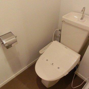 トイレはウォシュレットつき※写真は前回募集時のもの
