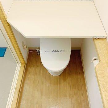 トイレの上に置きたためる台が…!