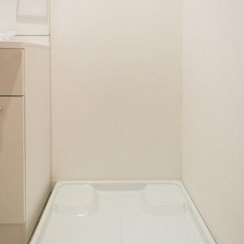 室内洗濯機置場(※写真は1階の反転間取り別部屋のものです)