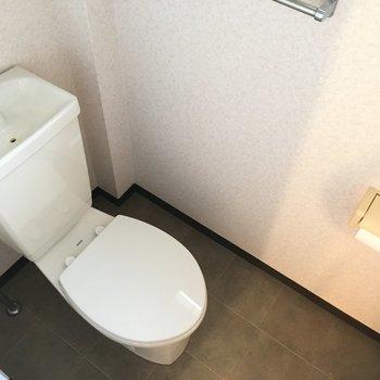 トイレは狭くはなかったです