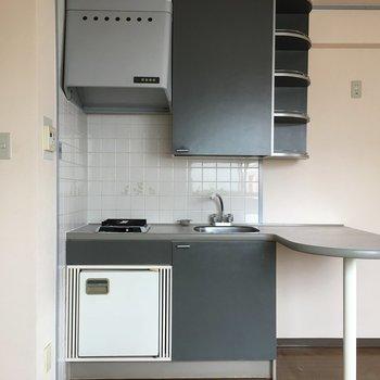 カウンター&冷蔵庫付きキッチン!