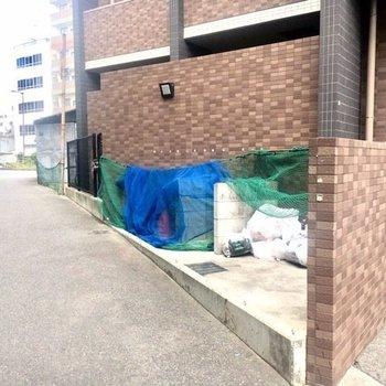 【共有部】敷地内にゴミ捨て場。