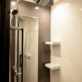 シャワーが2つあります!