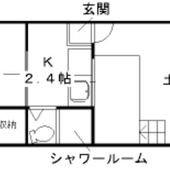 大きな土間がとっても気になります。和室などはコンパクト。