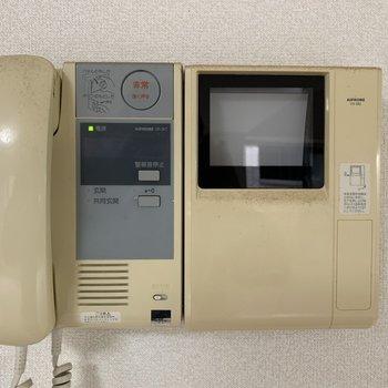 【LDK】モニター付きインターホン、安心感があります