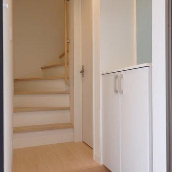 水回りと玄関は1階に(※写真は同間取り別部屋のものです)