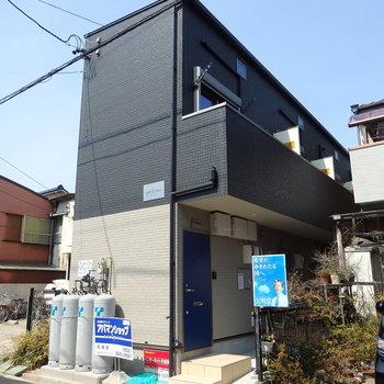 築浅のアパート
