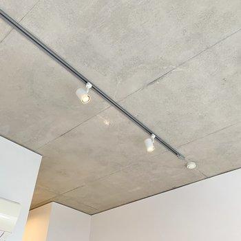 【LDK】天井はコンクリでクールに。