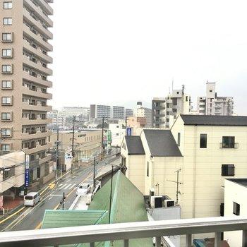 住宅街が広がっていますね。