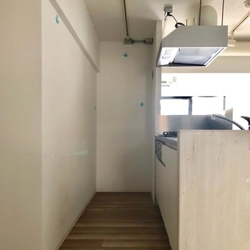 ここが私の厨房!※写真は3階の同間取り別部屋のものです