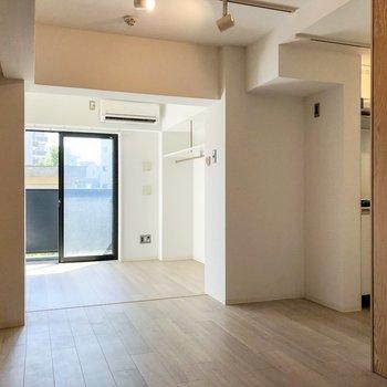 各スペースごとにみていきましょう。※写真は1階の同間取り別部屋のものです