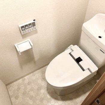 トイレは清潔感があって細目に掃除しちゃいそうだな。