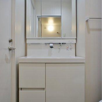 このお家賃で独立洗面は希少※写真は同タイプの別室。