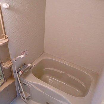 お風呂も綺麗で使いやすいですね(※写真は8階の同間取り別部屋のものです)