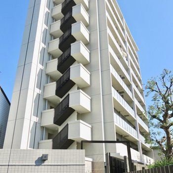 2017年築のマンション