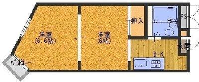 ブランドハウス京都二条城の間取り