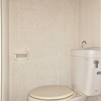 トイレにはウォッシュレットがありません。