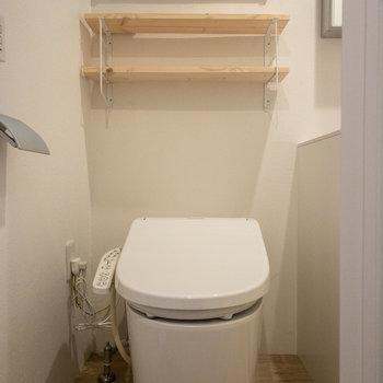 まずはトイレがお出迎え。