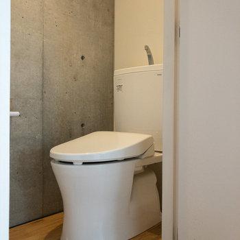 トイレは個室になっています。ゆっくりできそうですね。
