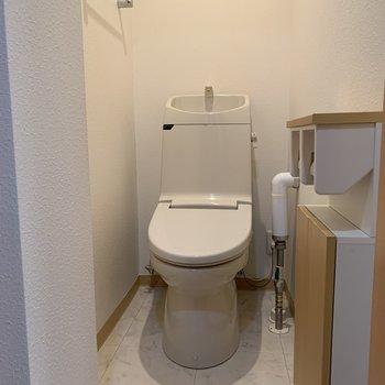 おトイレも充実してますよ〜