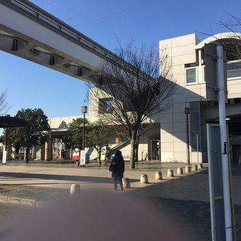 駅の南口です。
