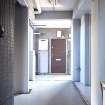 3階共用部の様子。