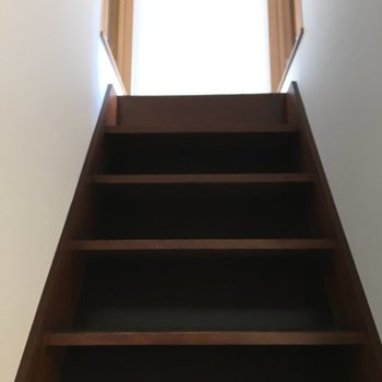 2階にいきまーす!
