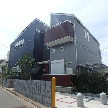 一軒家のようなデザインですね