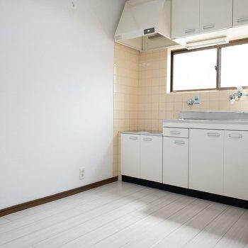 白で統一されたお部屋。