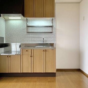 【DK】キッチンの隣には冷蔵庫を。
