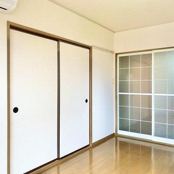 【洋室】和室とつながっています。