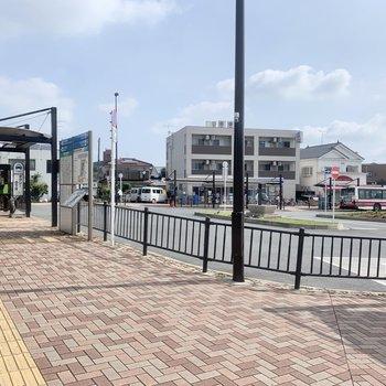 最寄りの【箱根ヶ崎駅】です。